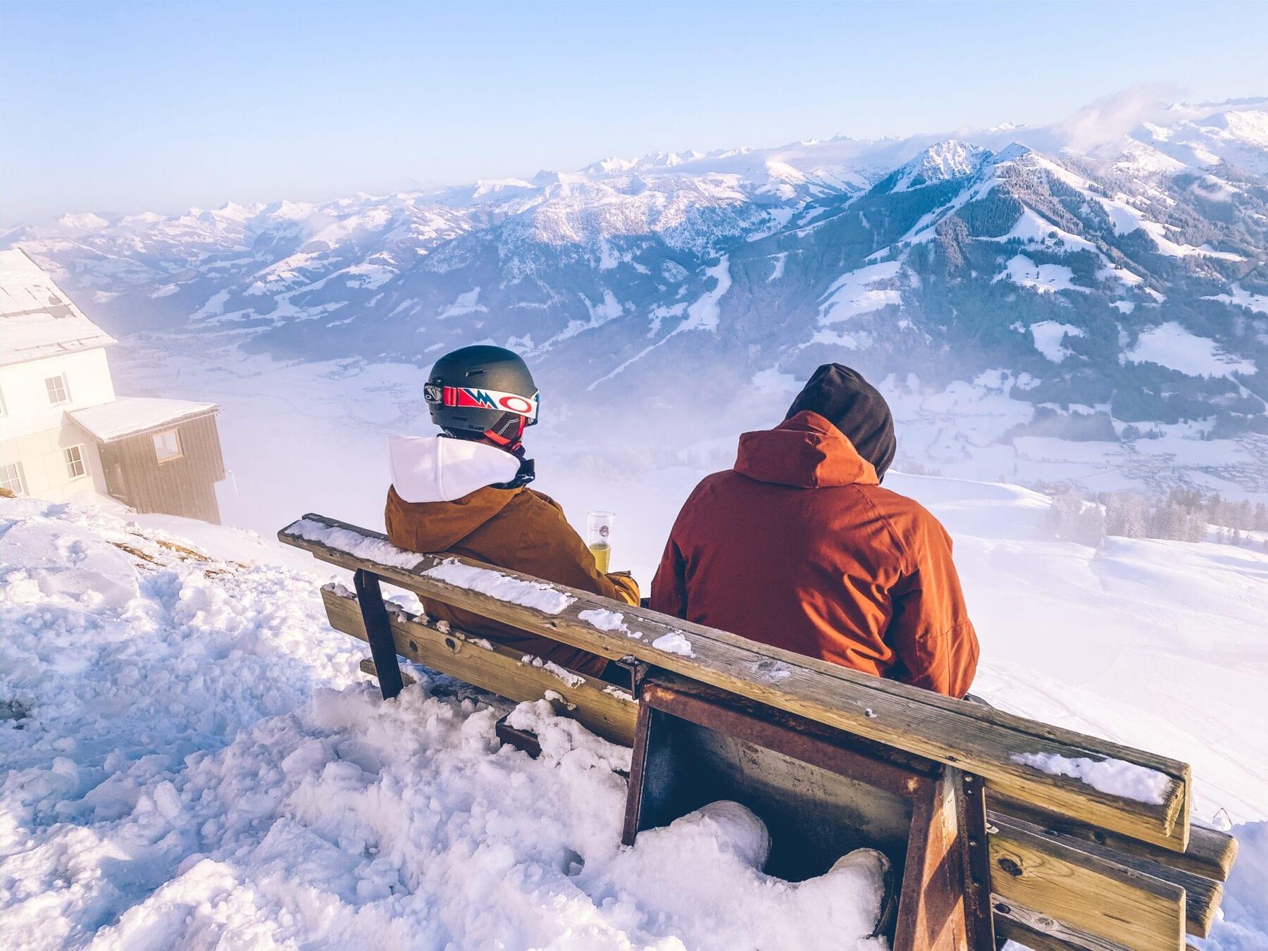 SkiWelt uitzichtpunt