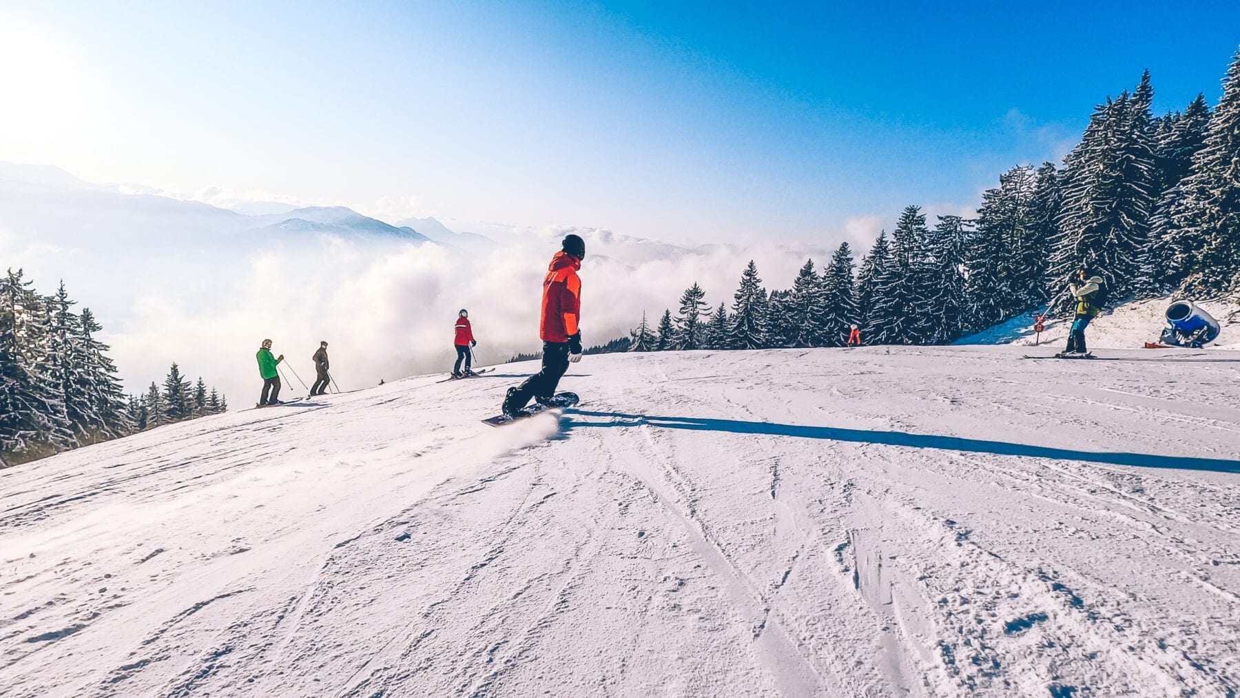 SkiWelt snowboard