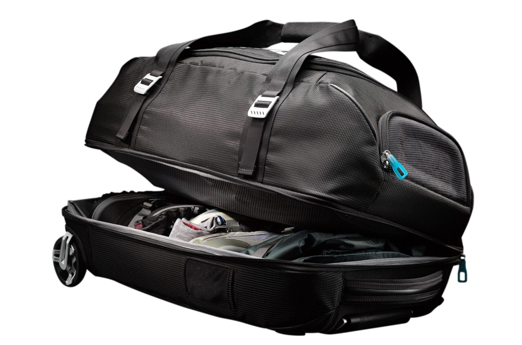 Thule Crossover Rolling Duffel header