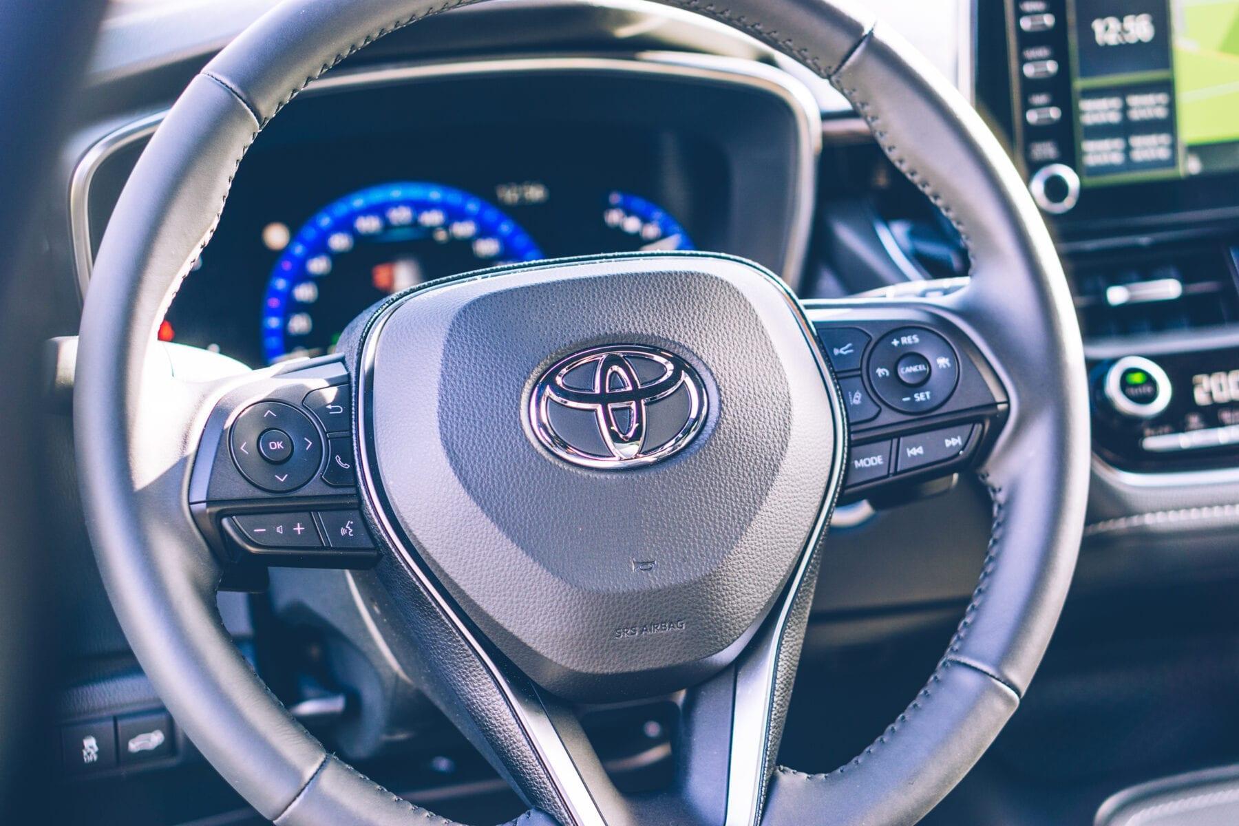 Toyota Corolla TREK stuur