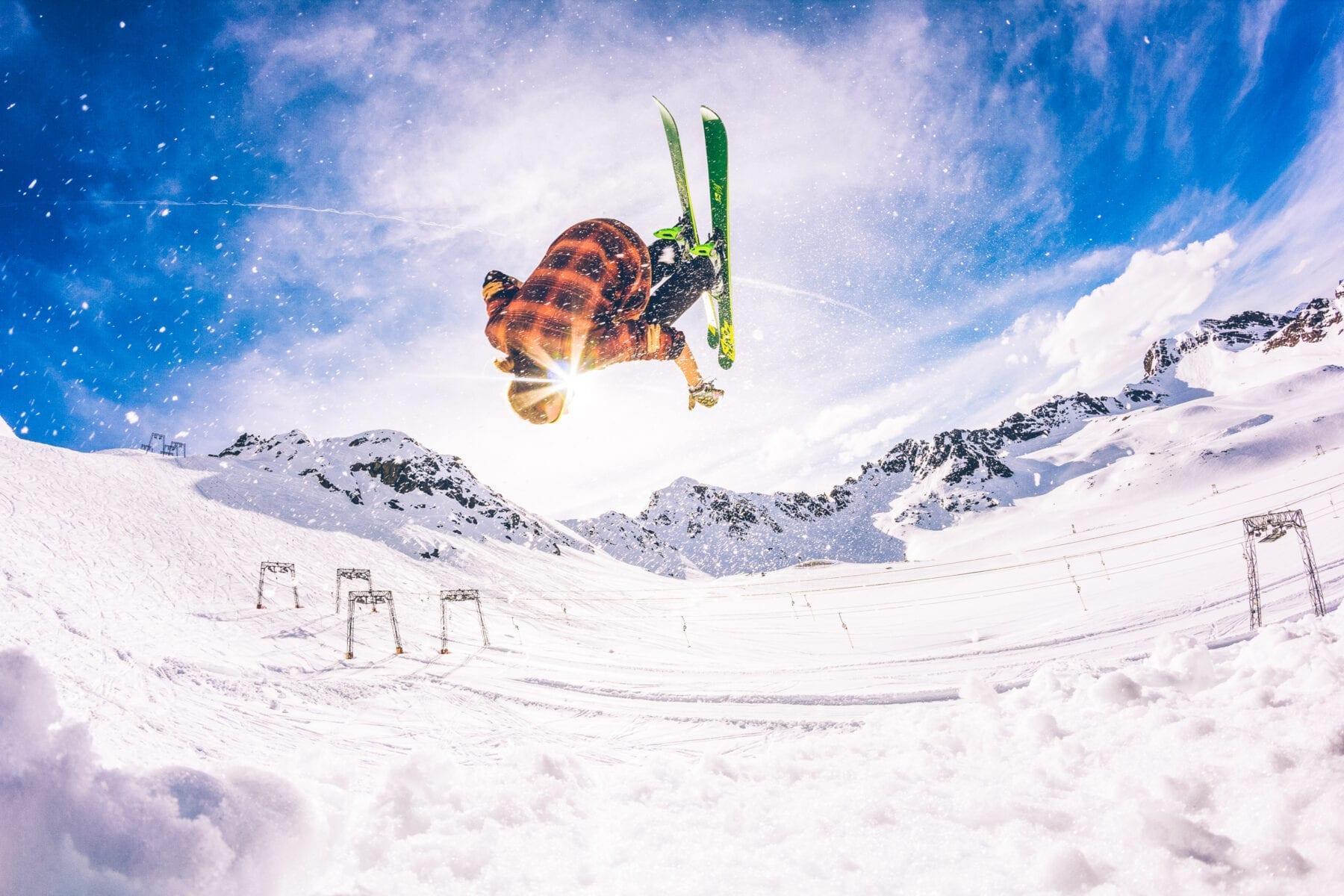 wintersport funpark regels stunt