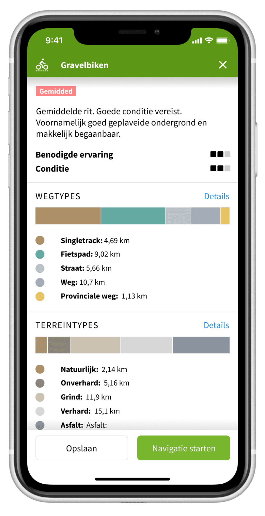 Komoot outdoor app
