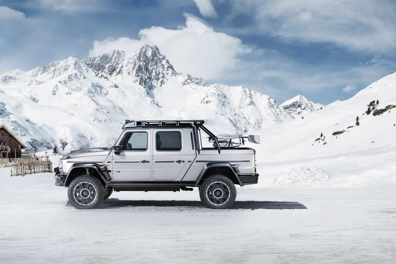 Brabus 800 Adventure XLP zijkant