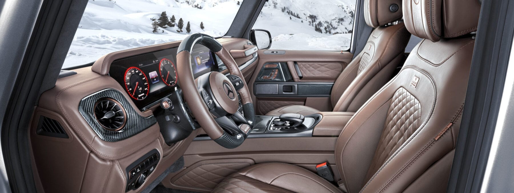 Brabus 800 Adventure XLP interieur