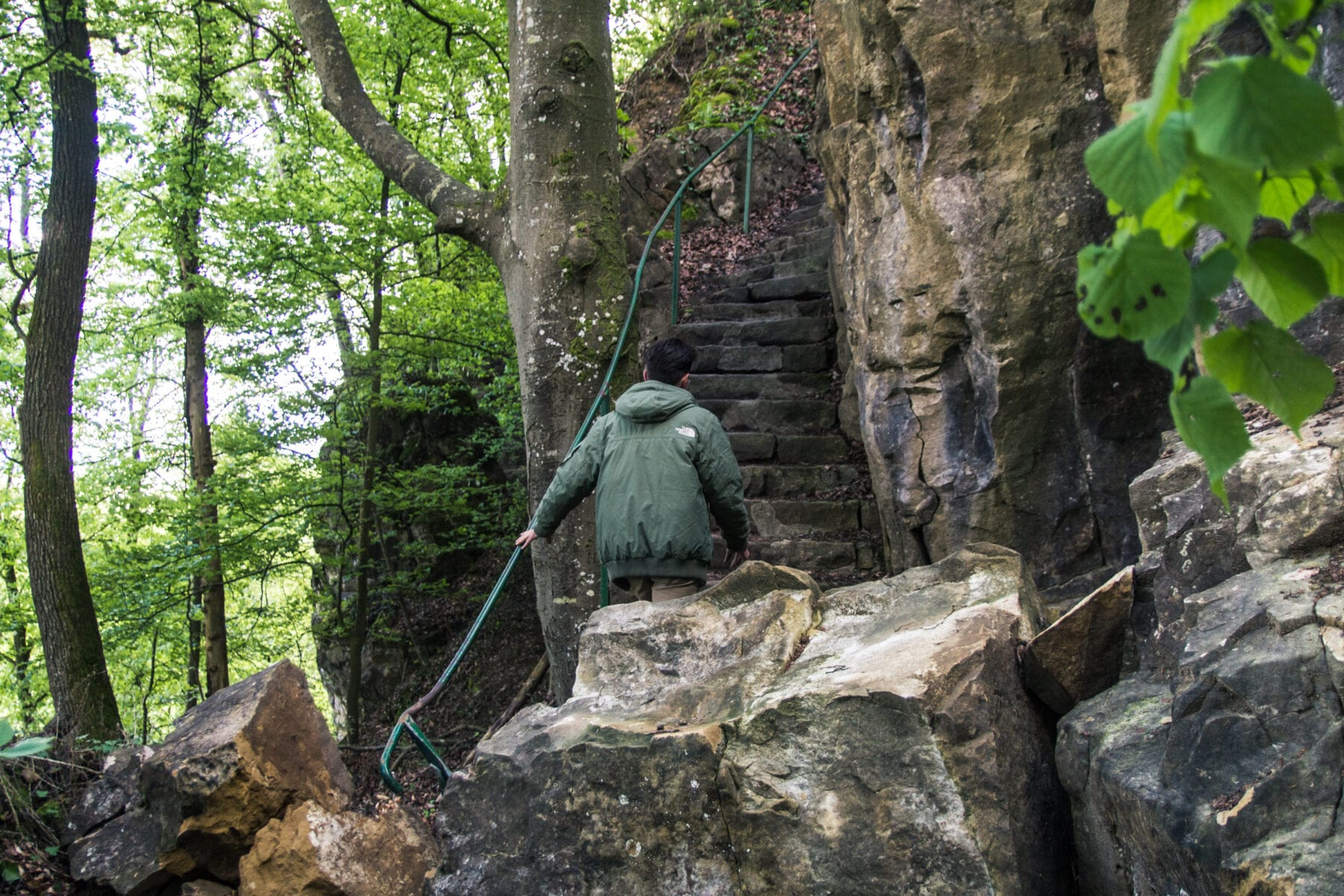 Gorges du Loup Wolven Luxemburg