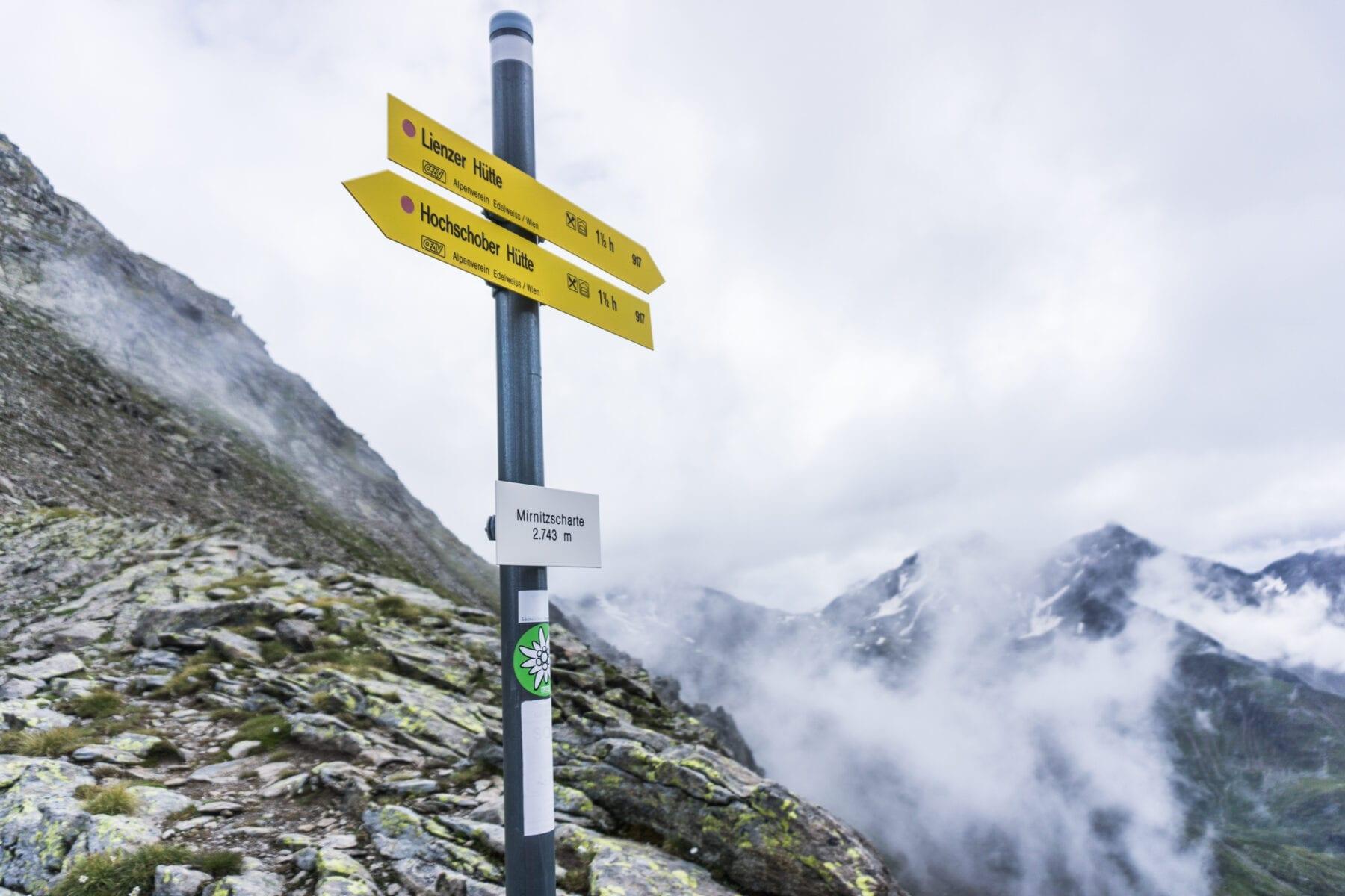 Moeilijkheidswaarderingen Oostenrijk gipfel