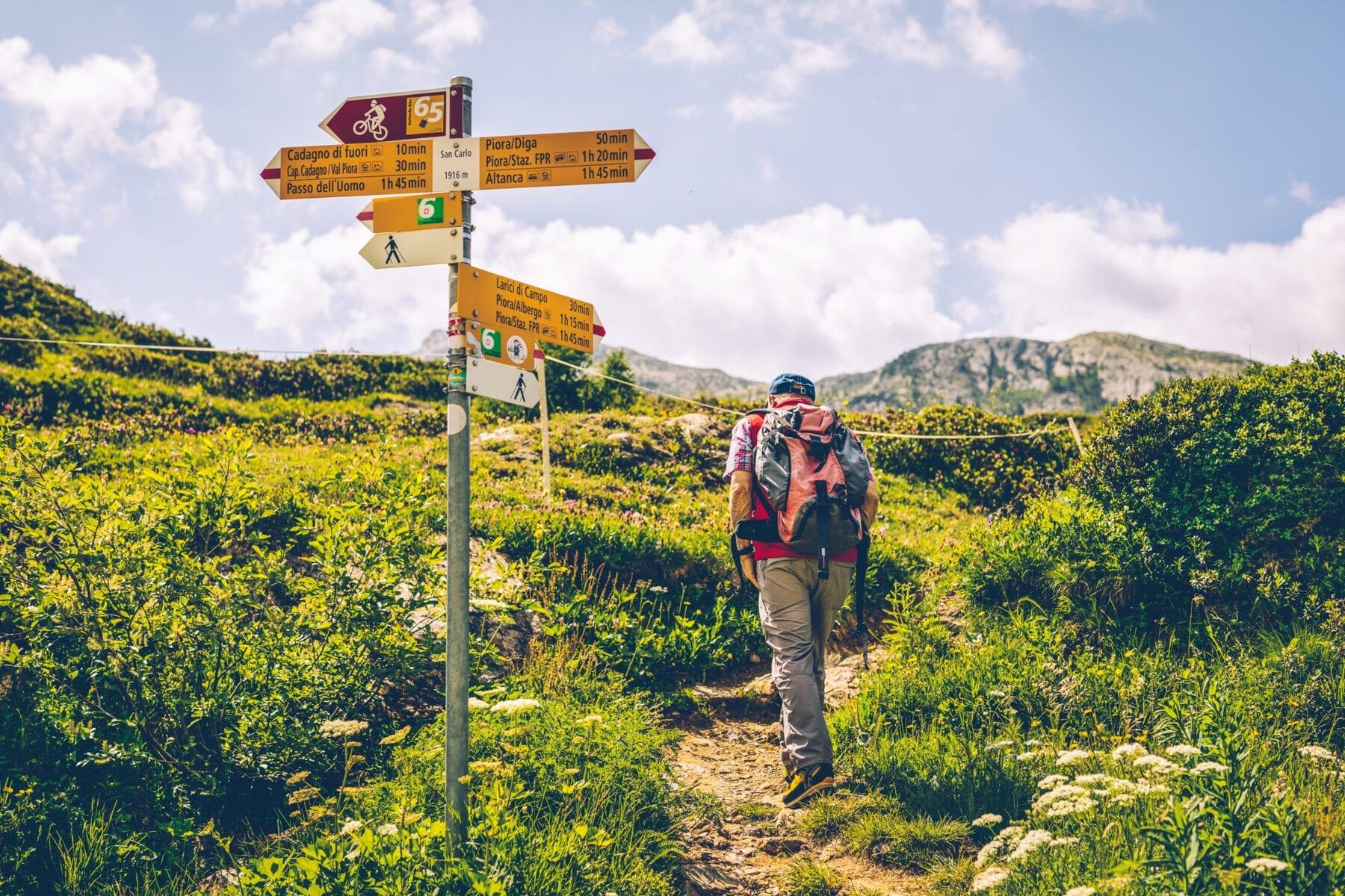 Moeilijkheidswaarderingen Zwitserland bergwandelpaden