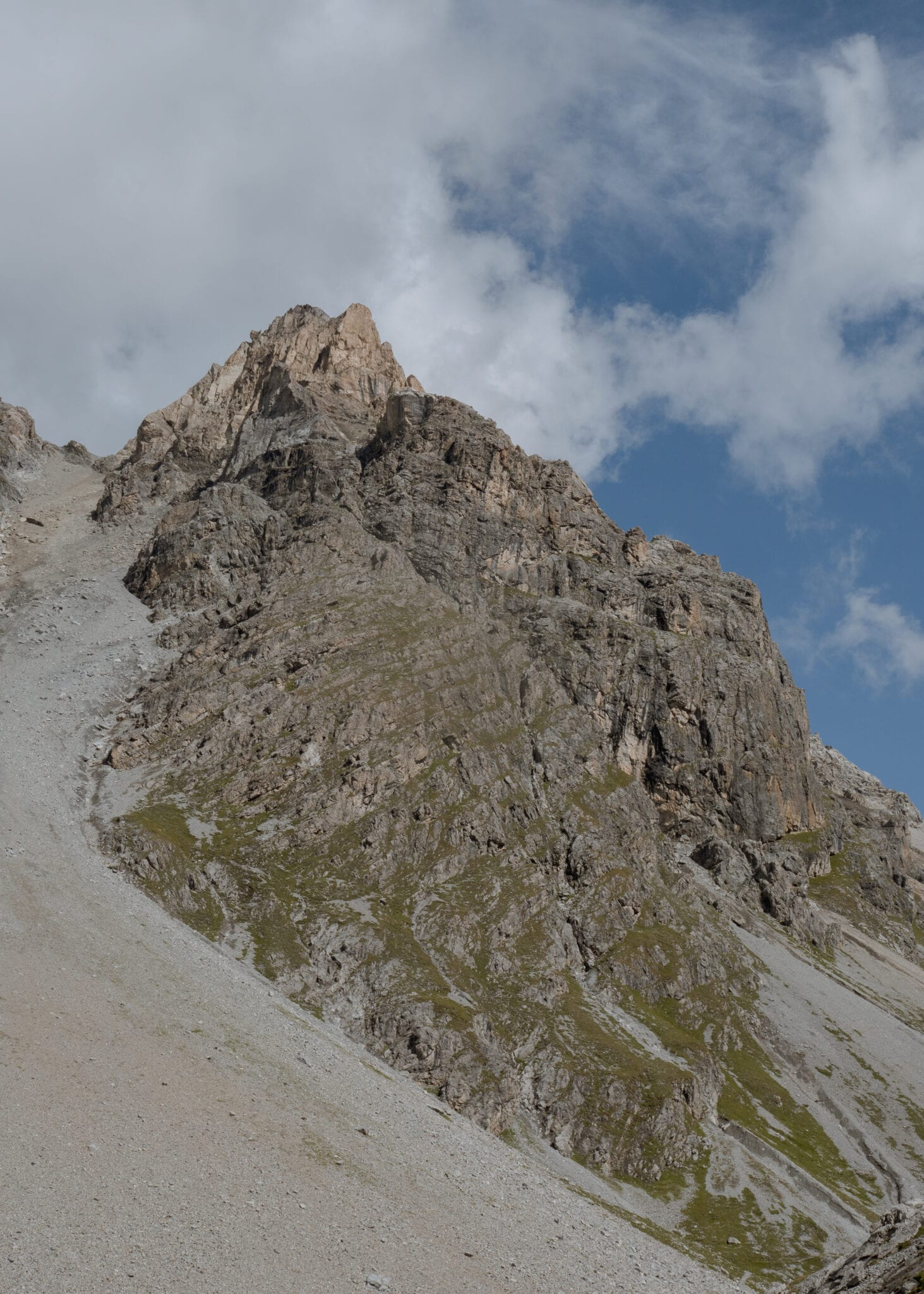 het berglandschap