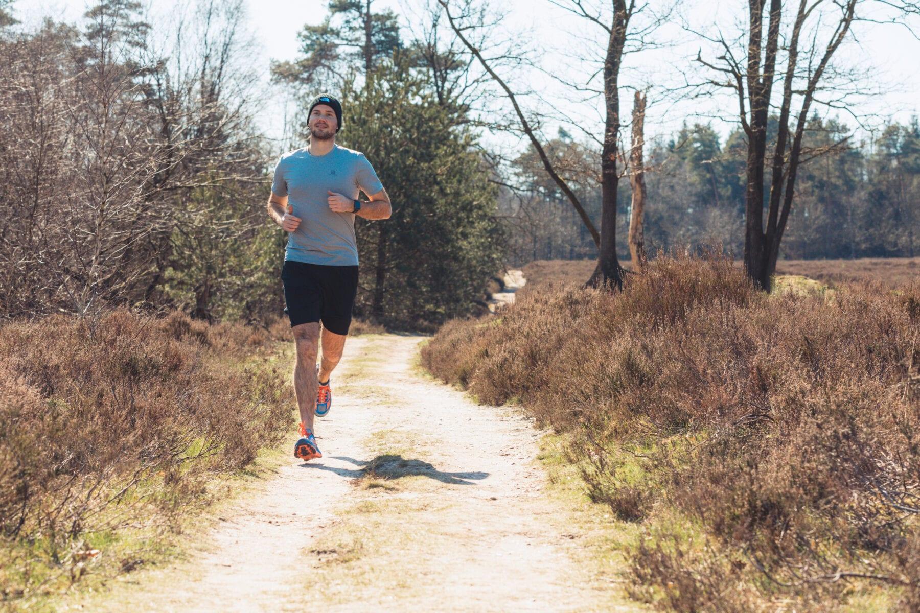 Veluwe trailrunning Hoka One One Mafate Speed 2