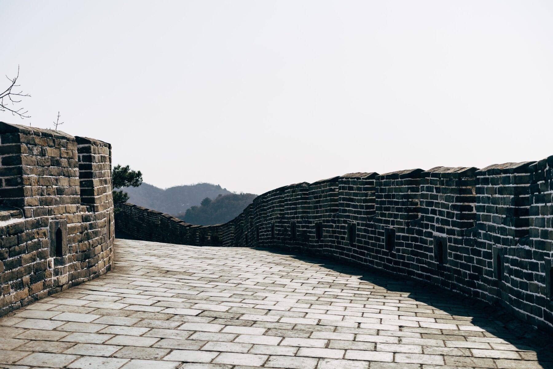 virtuele hike Chinese Muur