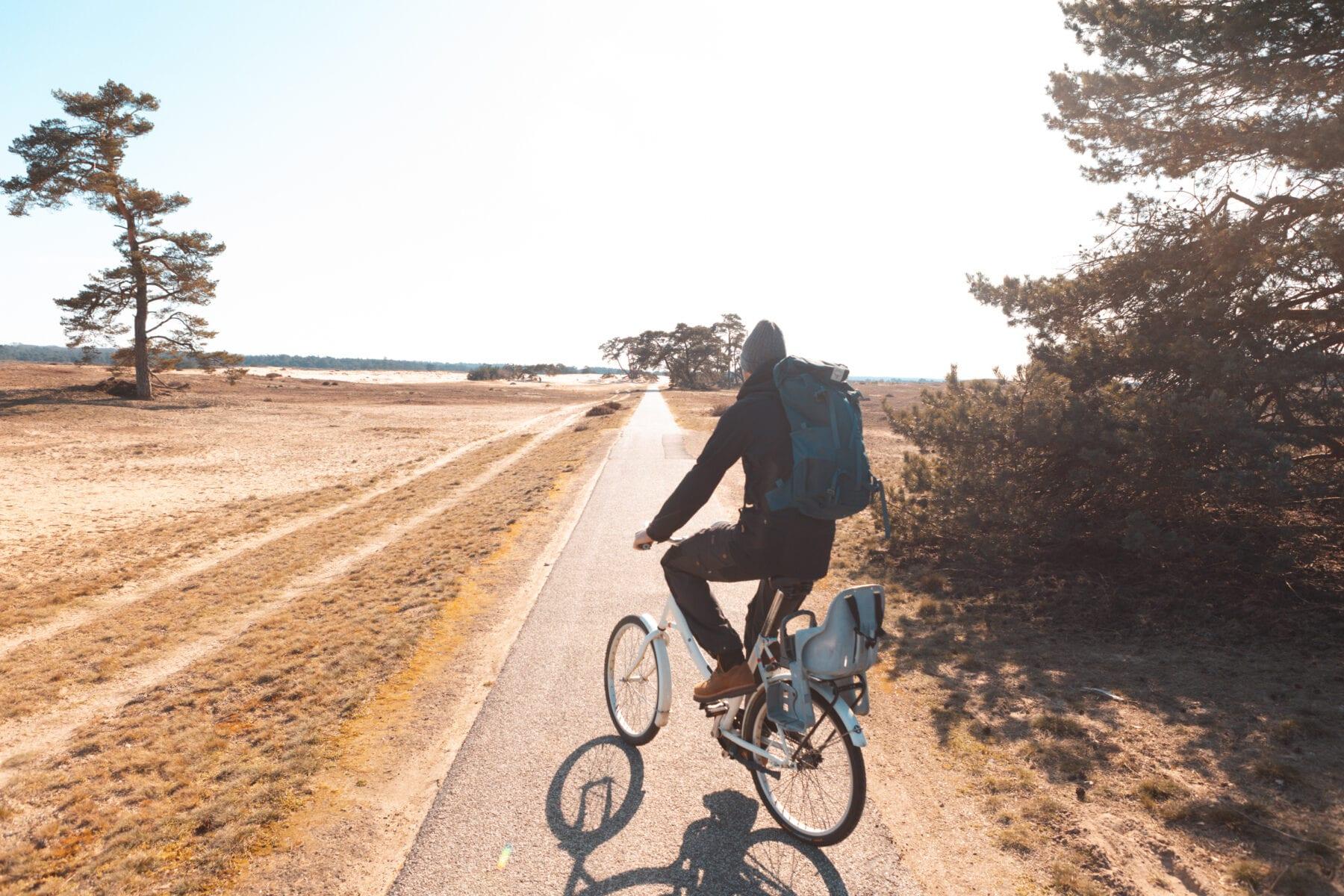 Het Nationale Park De Hoge Veluwe fietsen