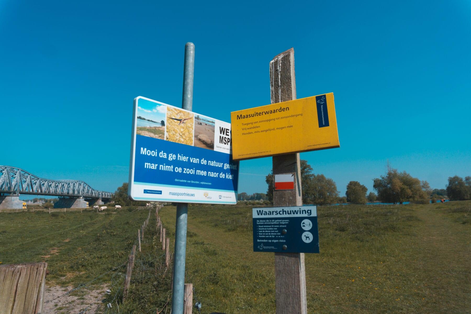 Maasuiterwaarden wandelen Den Bosch bij de Empelse Waard Natuurmonumenten