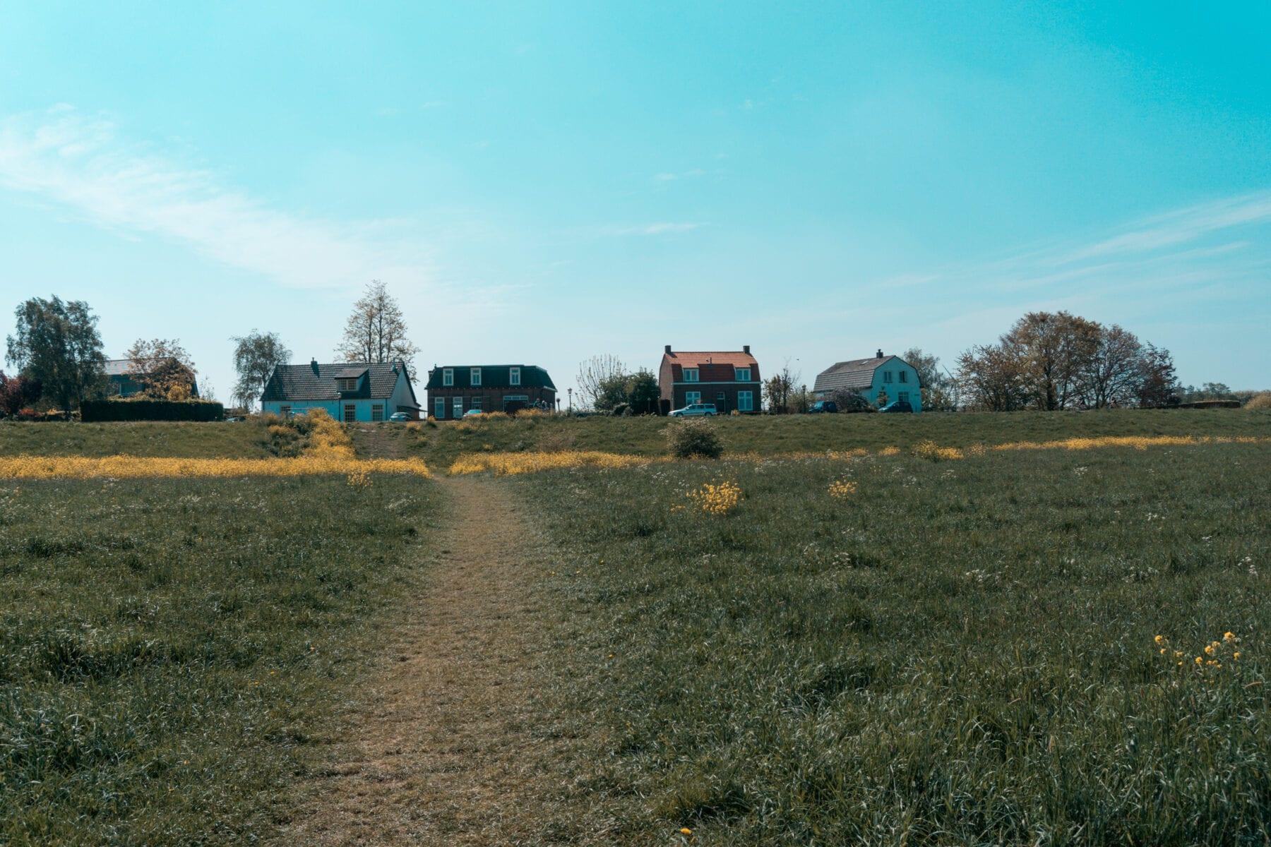 Maasuiterwaarden wandelen Den Bosch bij de Empelse Waard Empel