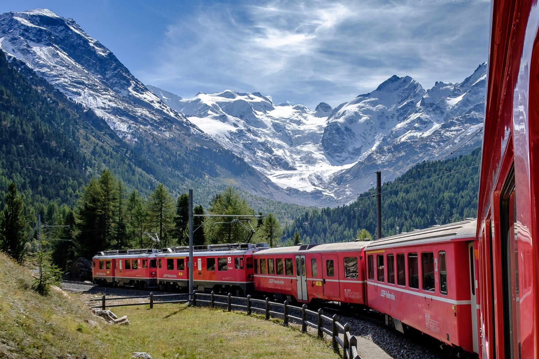 Mooiste treinreizen Europa Glacier Express