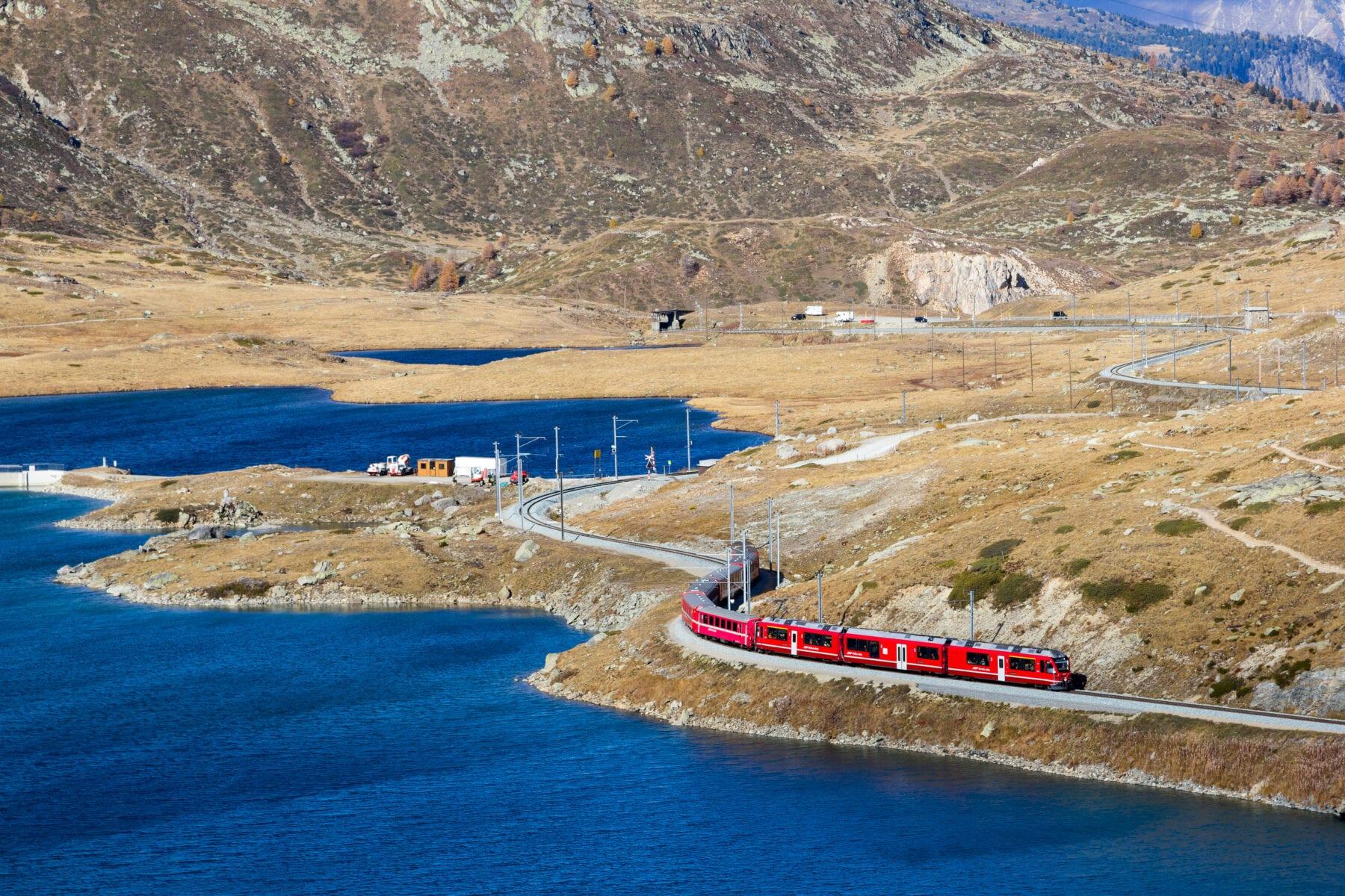 Mooiste treinreizen Europa Bernina Express