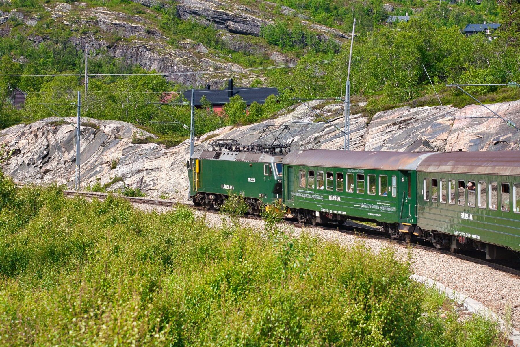 Mooiste treinreizen Europa Noorwegen