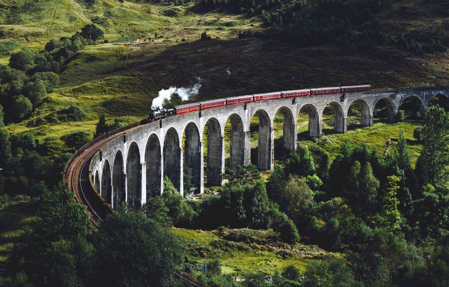 Mooiste treinreizen Europa West Highland Line