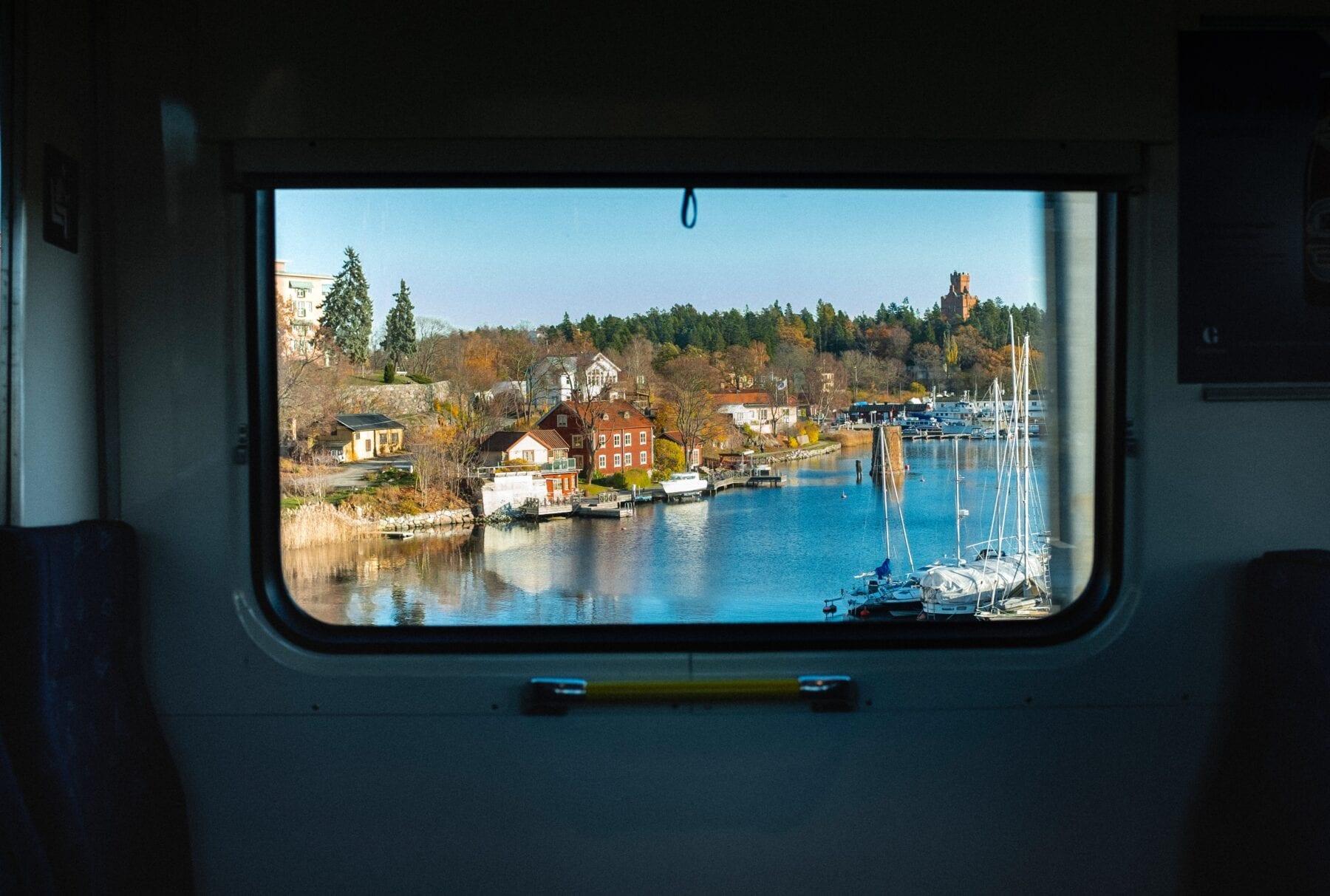 Treinreis in Zweden