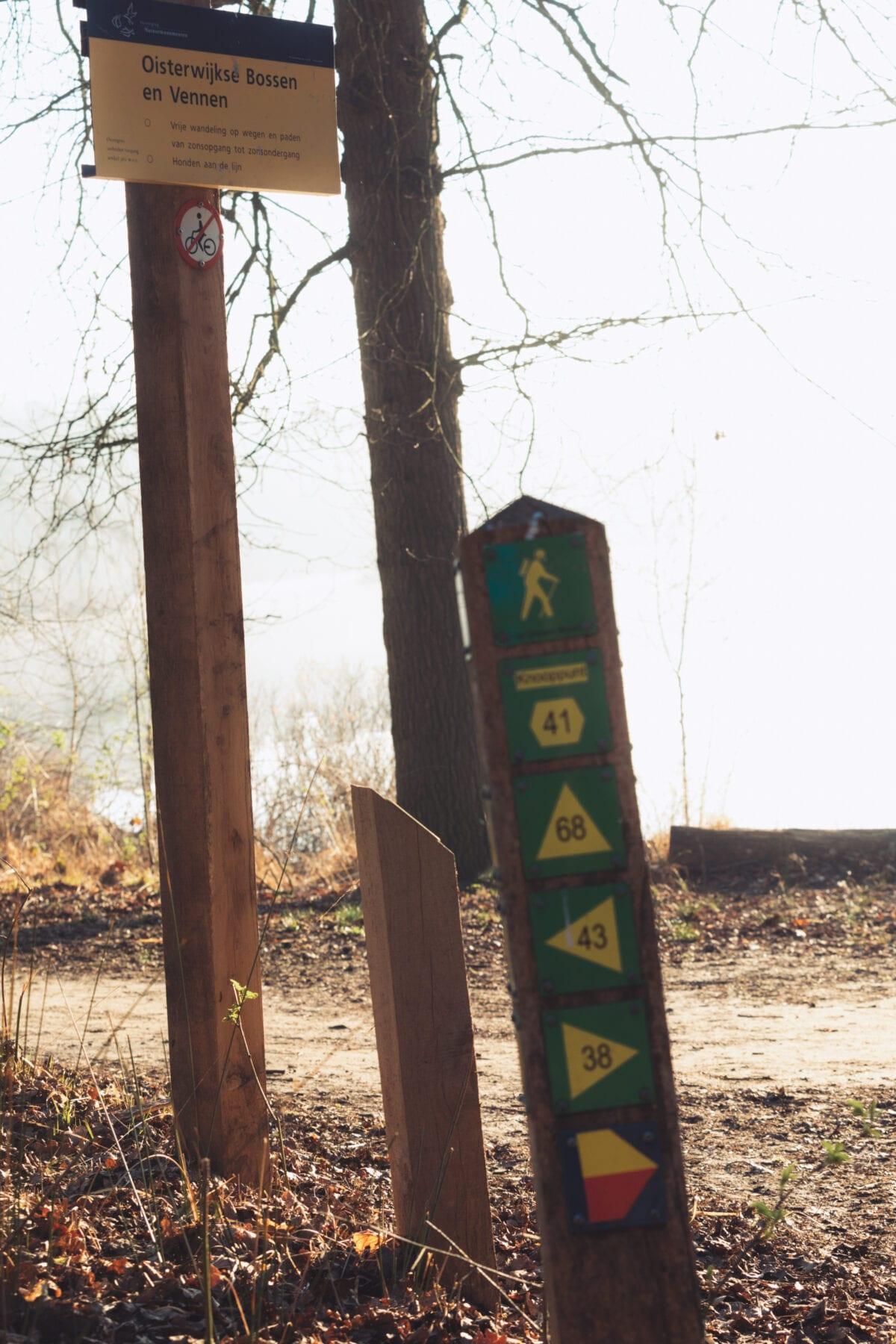 Oisterwijkse bossen en vennen wandelroutes