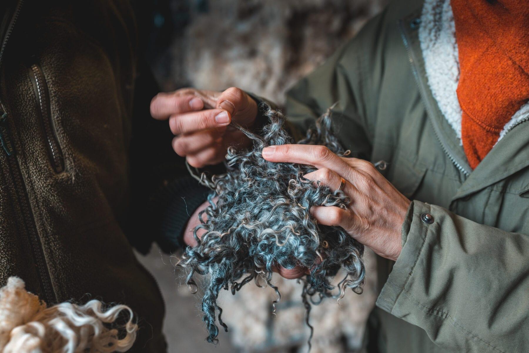 Kleding van wol wassen wollen