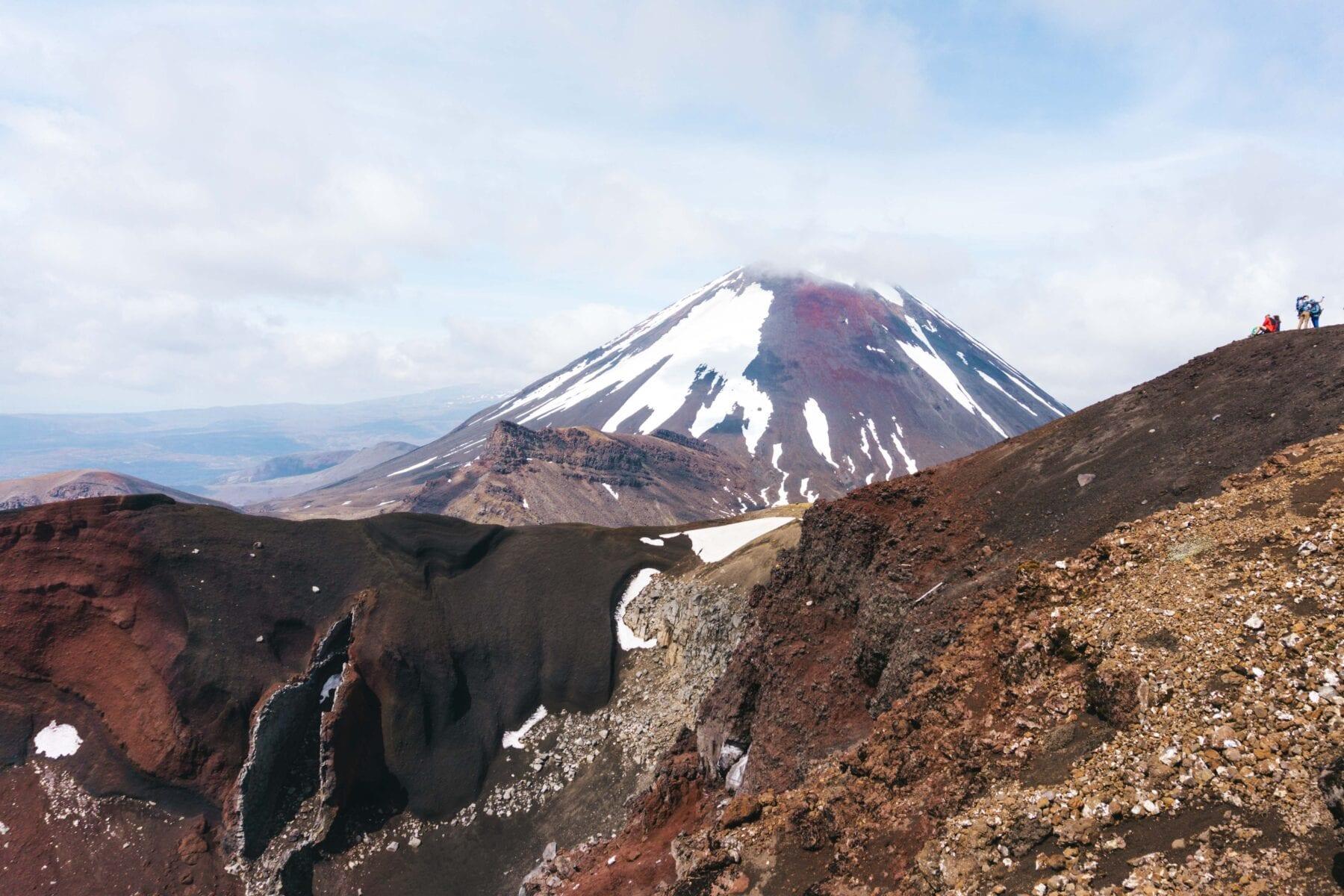 Tongariro Alpine Crossing-dagwandeling Nieuw Zeeland