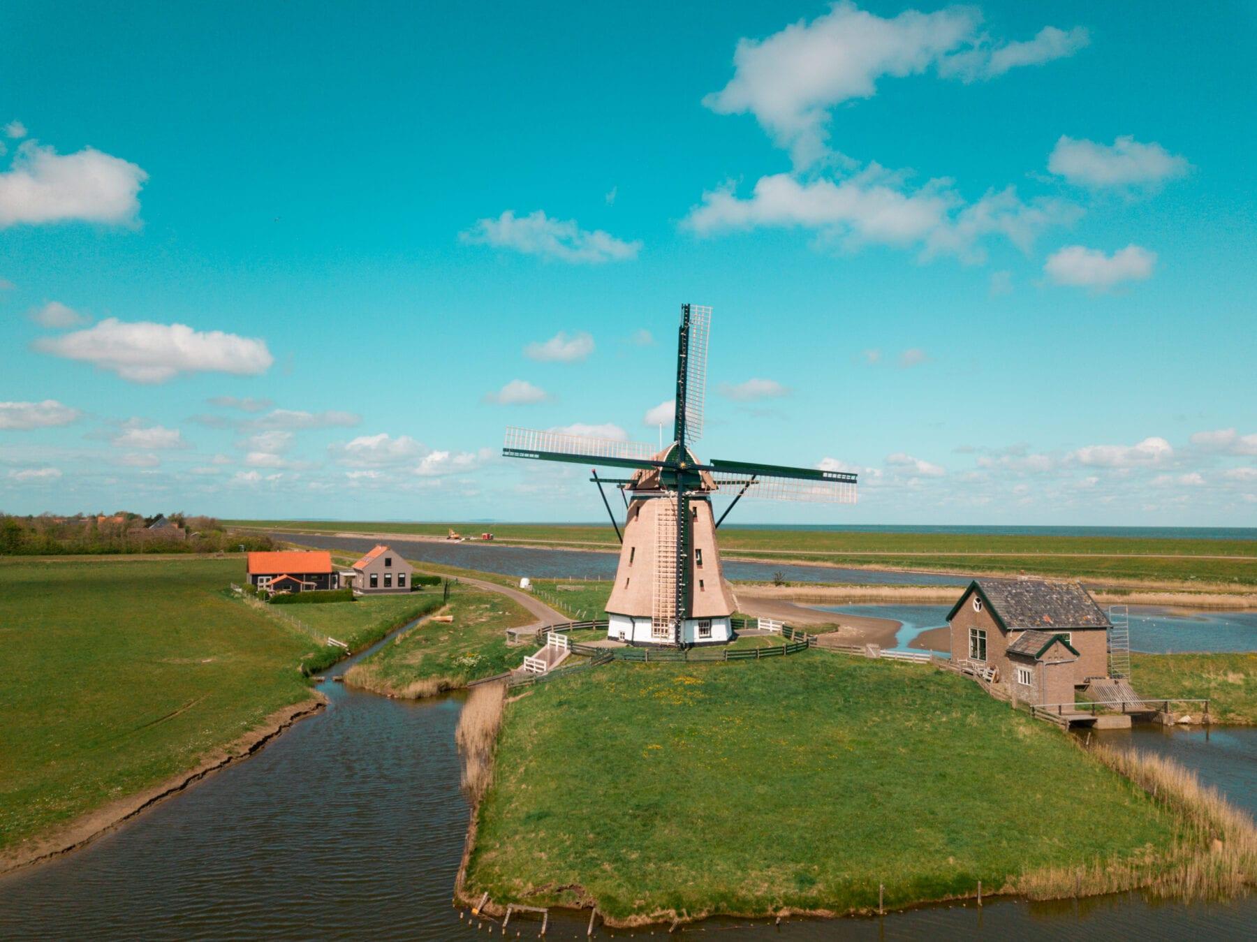 Vakantie naar Texel molen