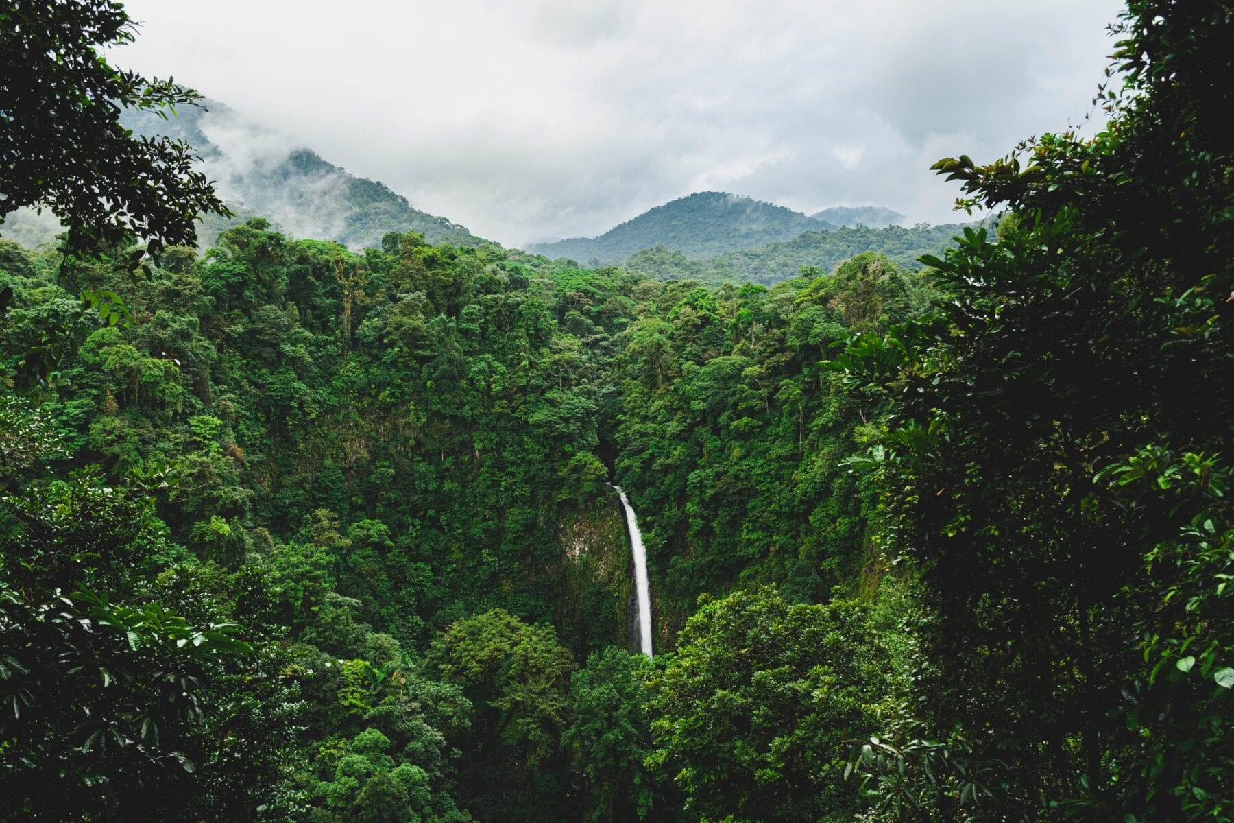 Uitzicht La Fortuna-avontuurlijk Costa Rica