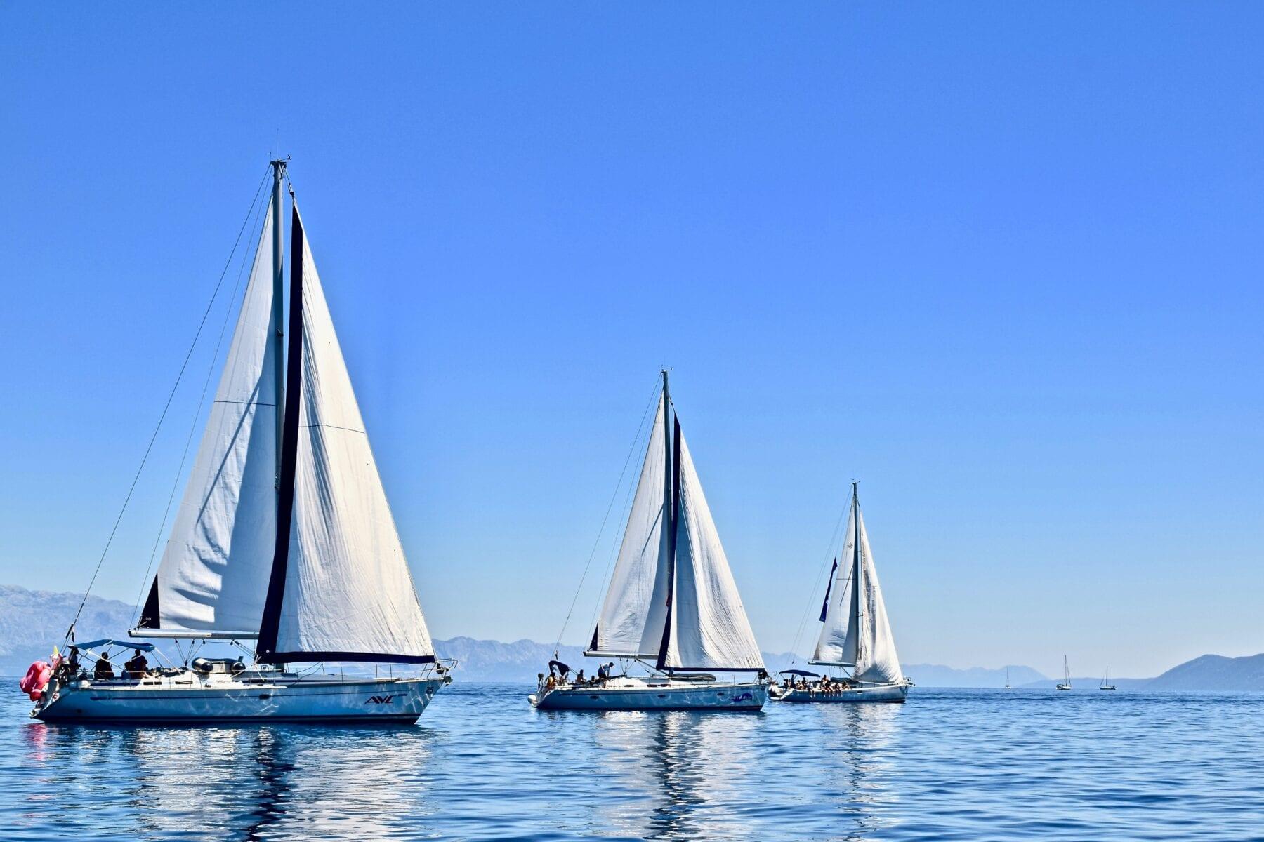 Kroatië opent grenzen na Corona zeilboot
