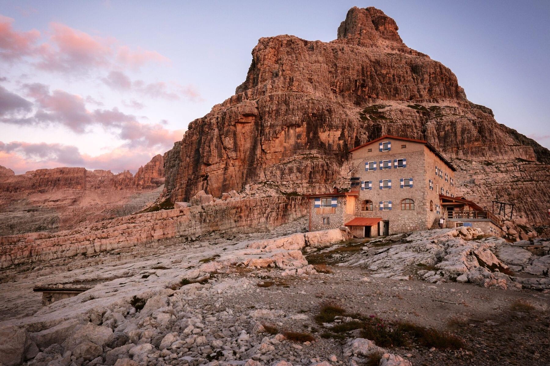 berghutten Trentino Corona Italië