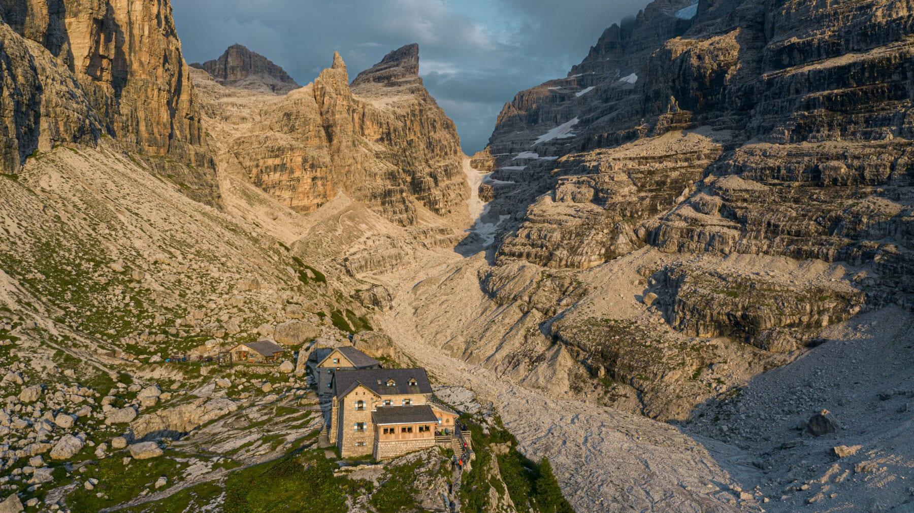berghutten Trentino Corona rifugio