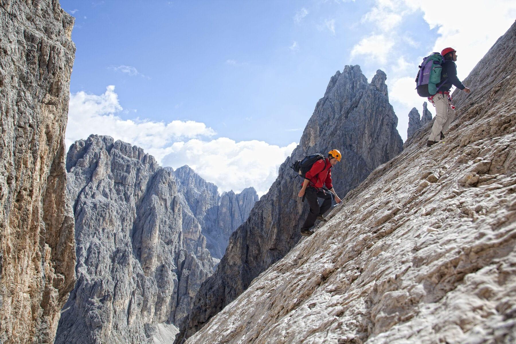 berghutten Trentino Corona via ferrata