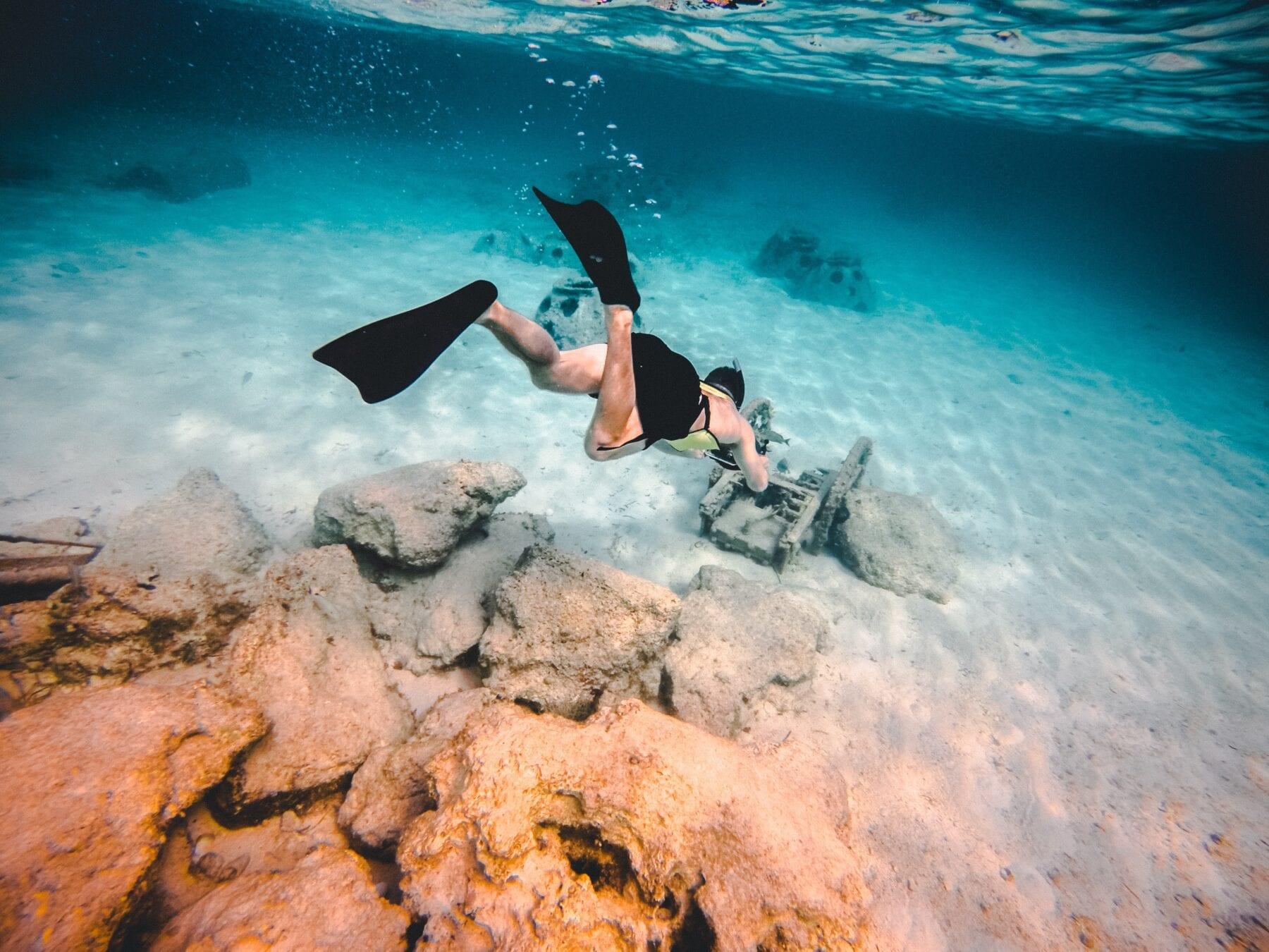 tips voor snorkelen diep duiken