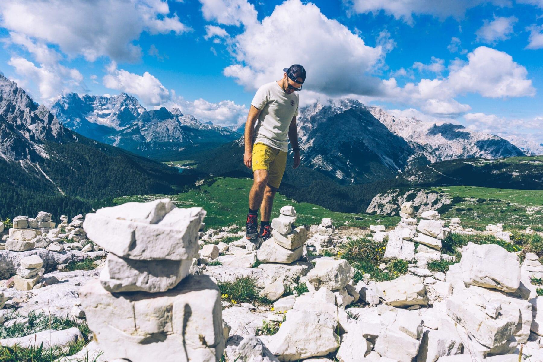 Fjallraven Travellers MT shorts M Italie