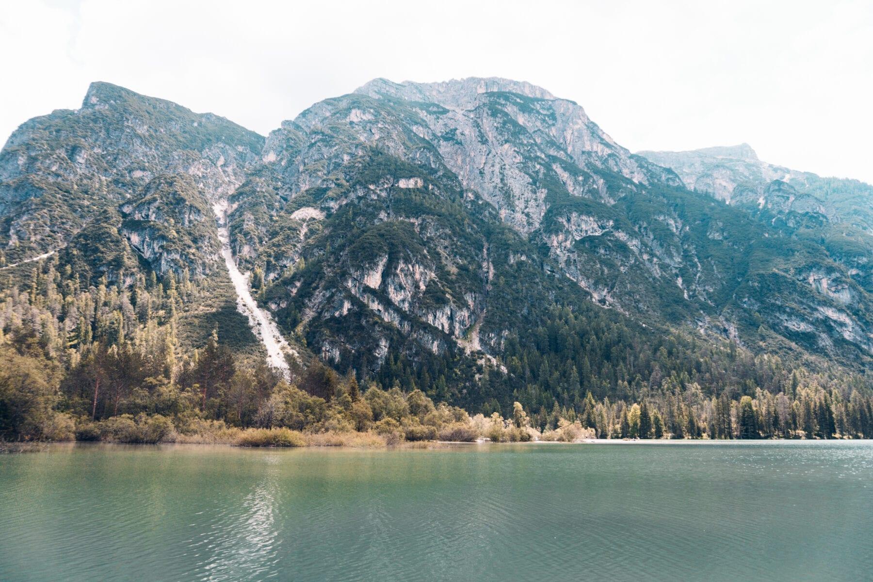 Meren in Zuid Tirol Dürrensee