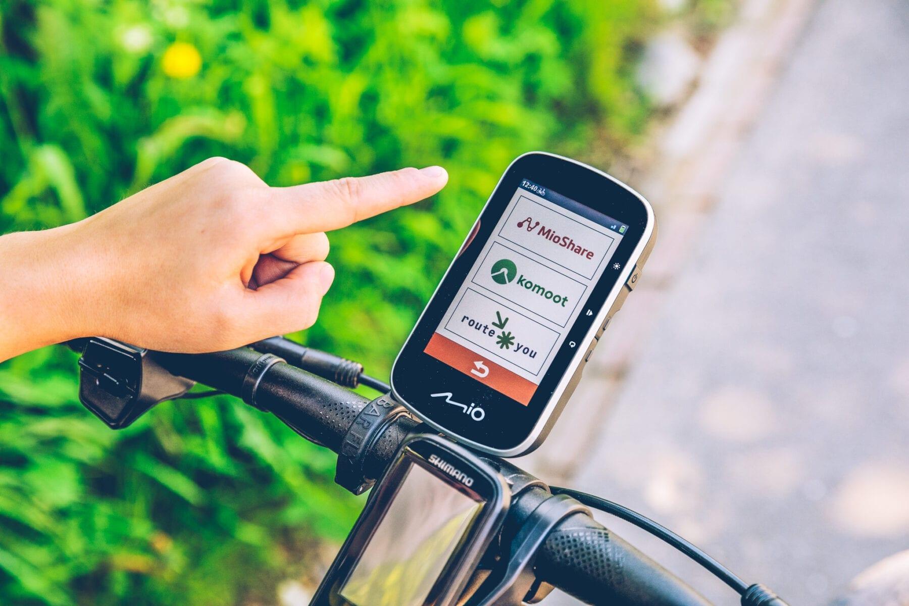 Mio Cyclo Discover Plus Fietsnavigatie Komoot