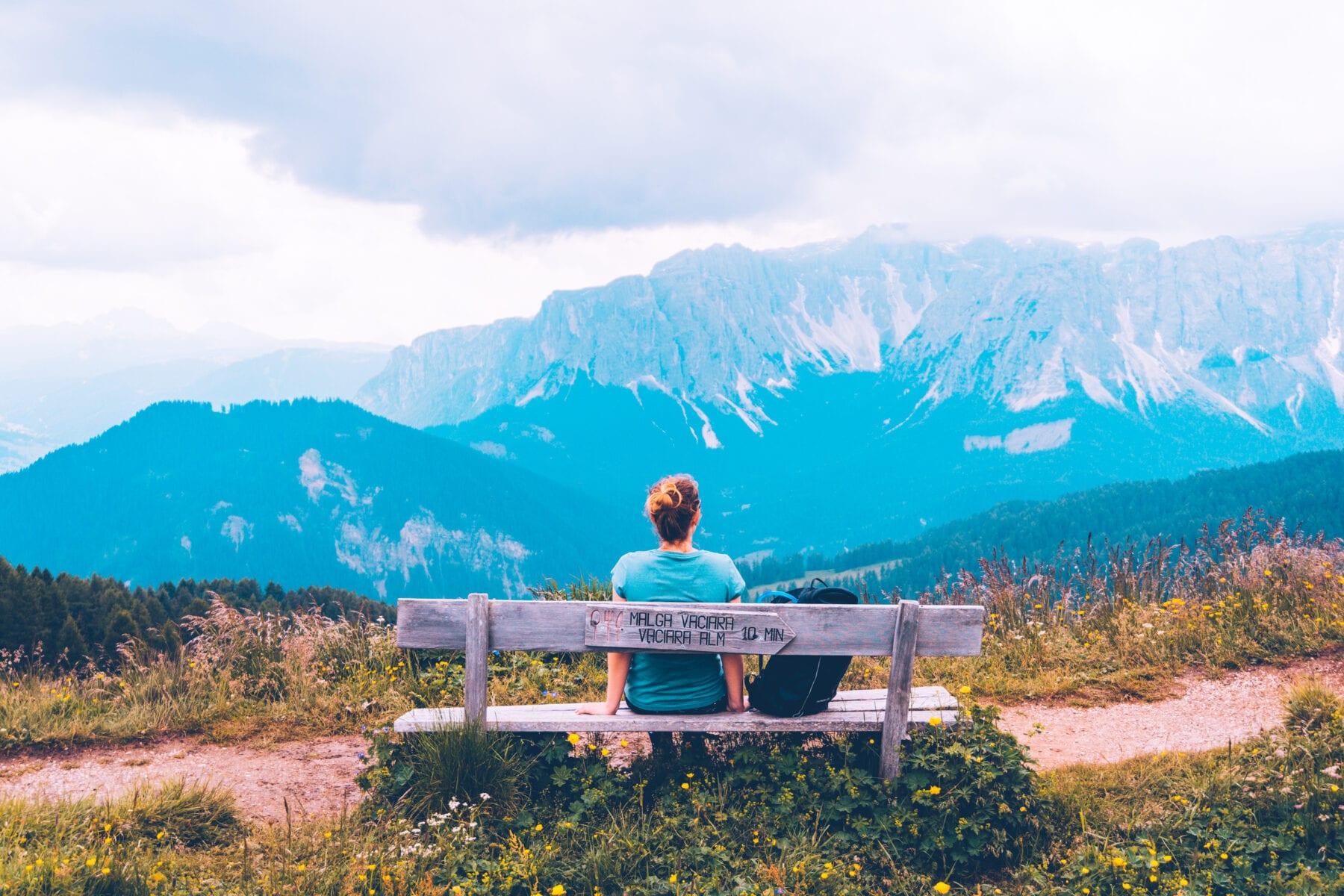 Puez-Geisler Naturpark in Zuid-Tirol