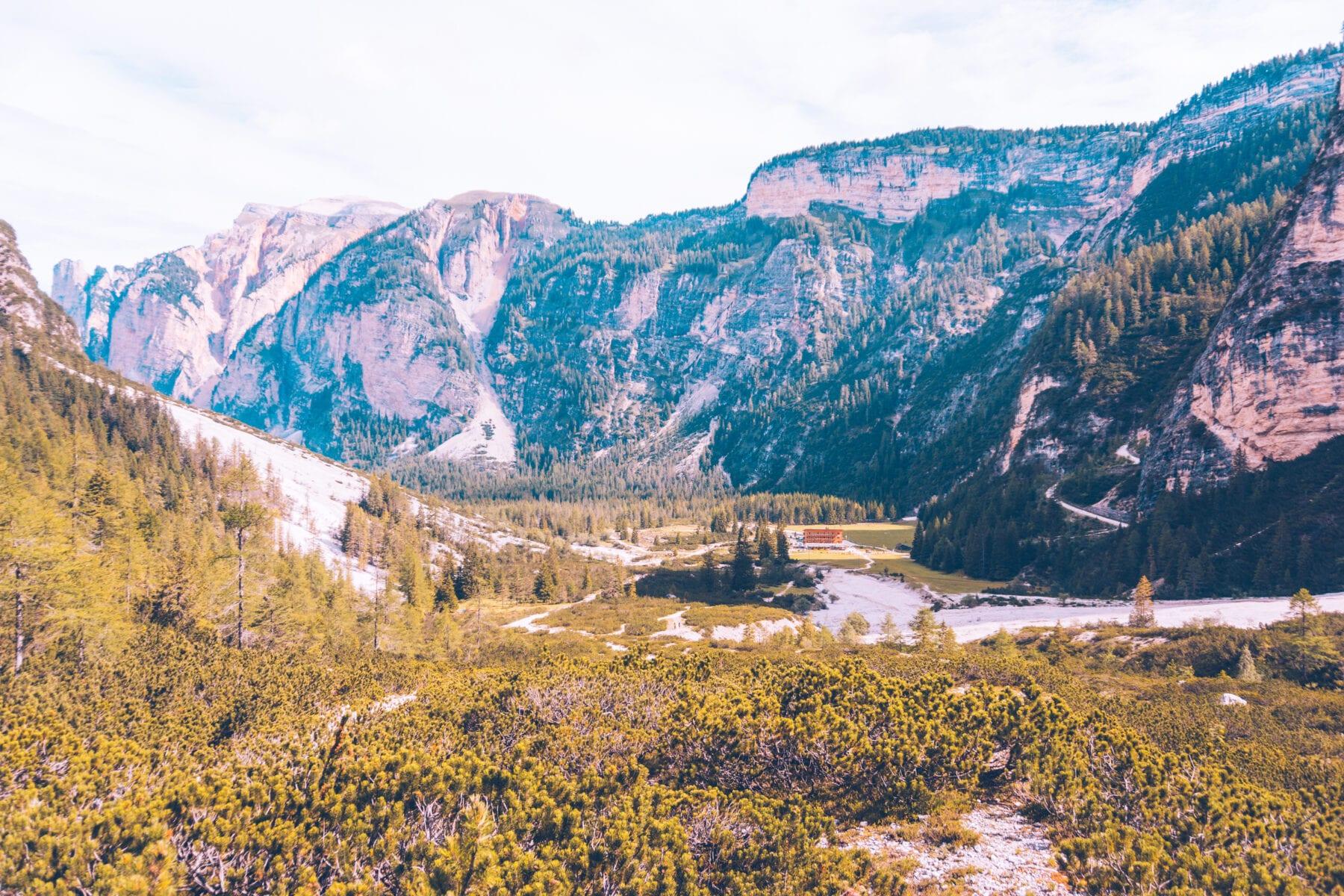 Fanes-Sennes-Prags-San Vigilio di Marebbe-Zuid Tirol