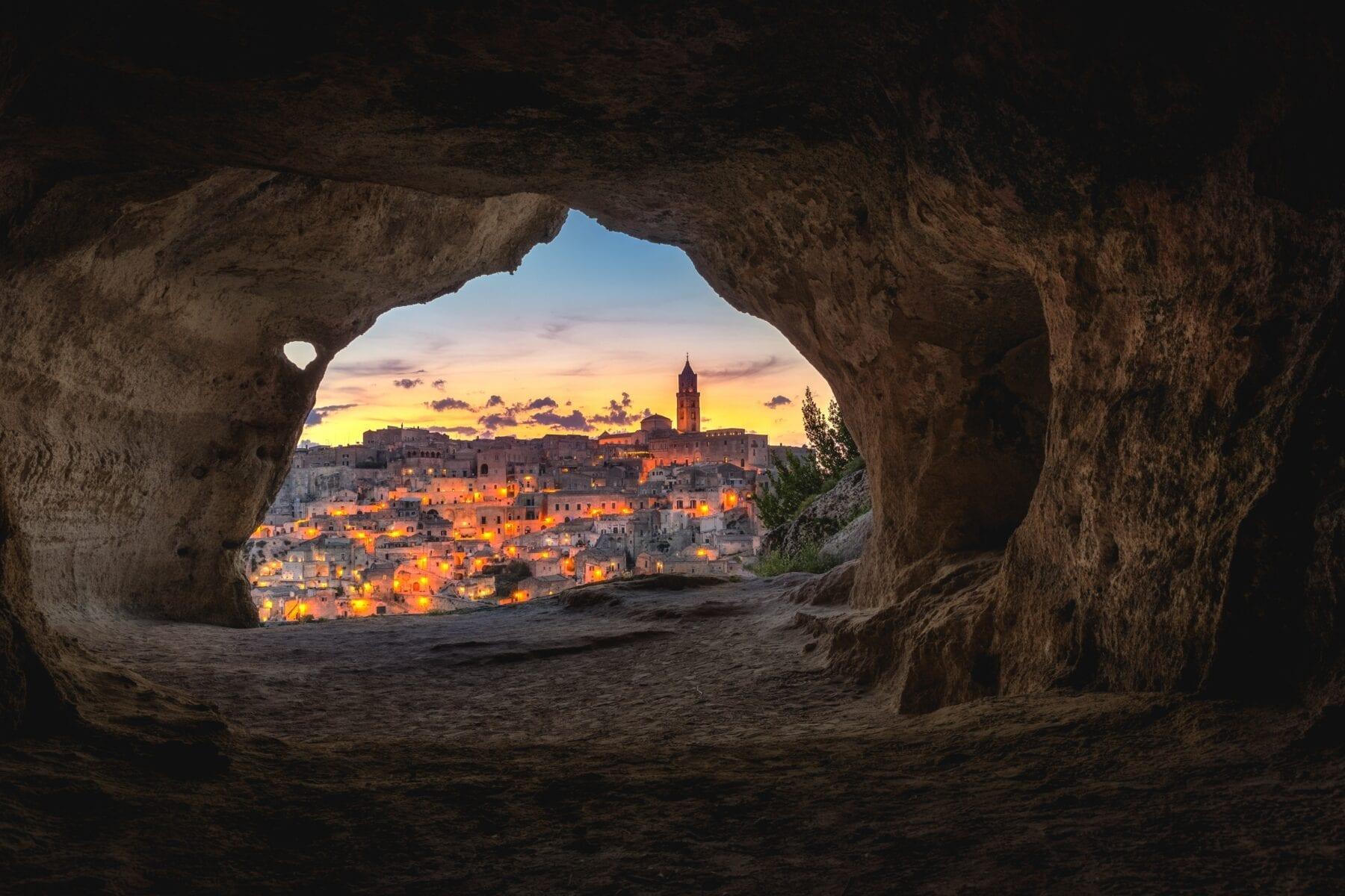 Bijzondere bestemmingen in Europa Matera Italië