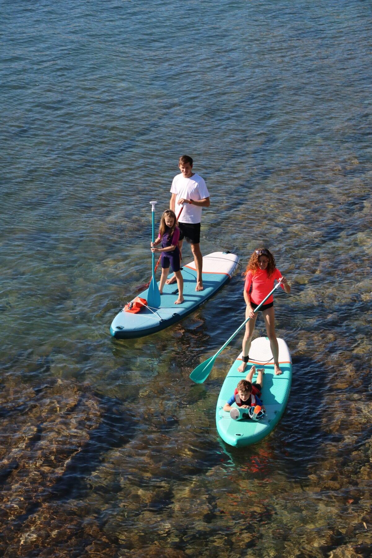 Decathlon sup board itiwit familie