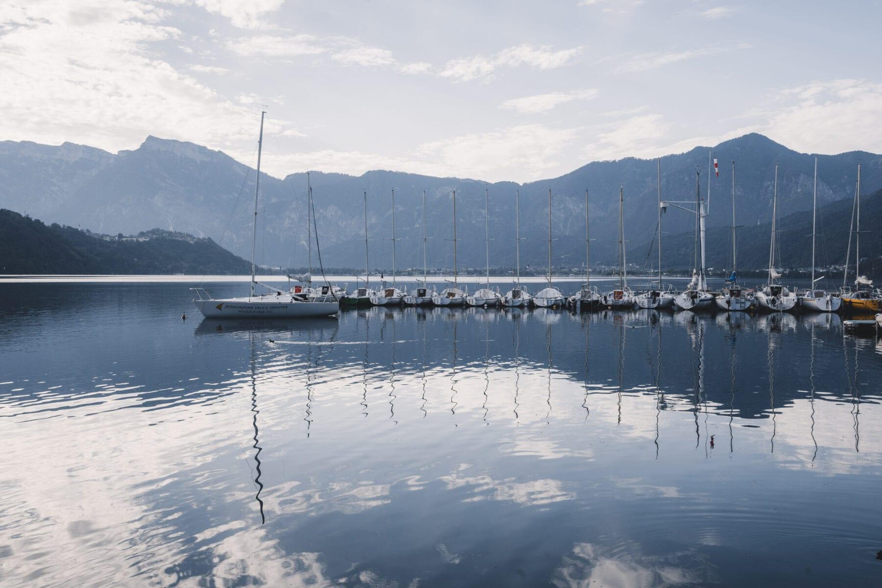 Lago di Caldonazzo zeilen