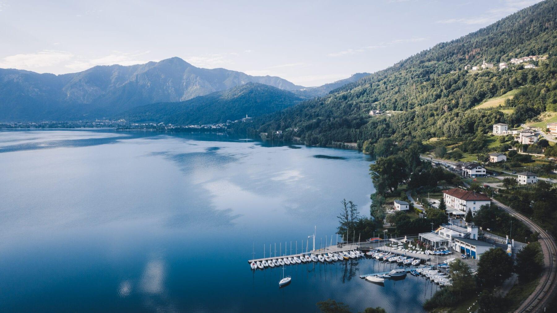 Lago di Caldonazzo zeilboot