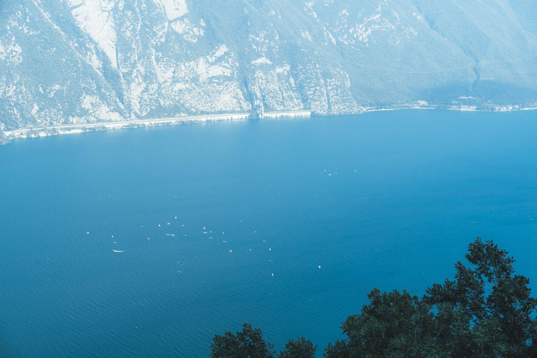 Punta Larici mooiste uitzicht Gardameer