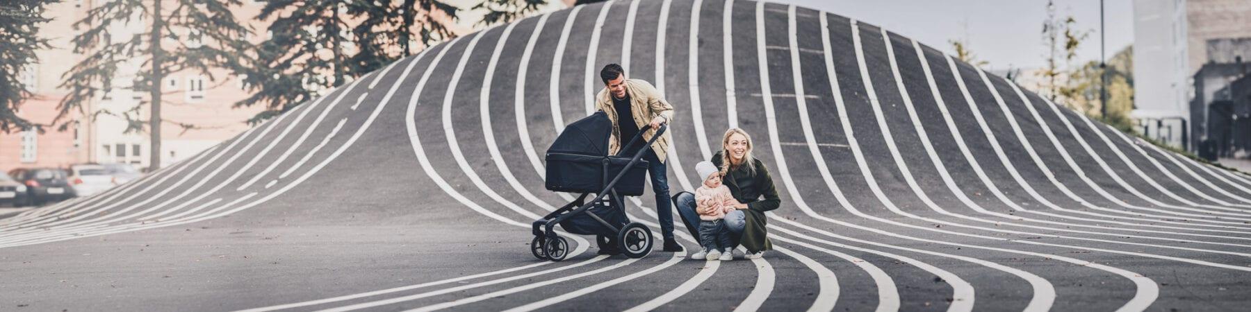 Thule Sleek kinderwagen familie