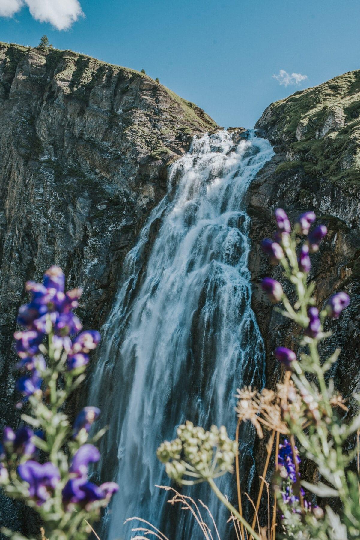 Engstligen waterval Zwitserland Adelboden