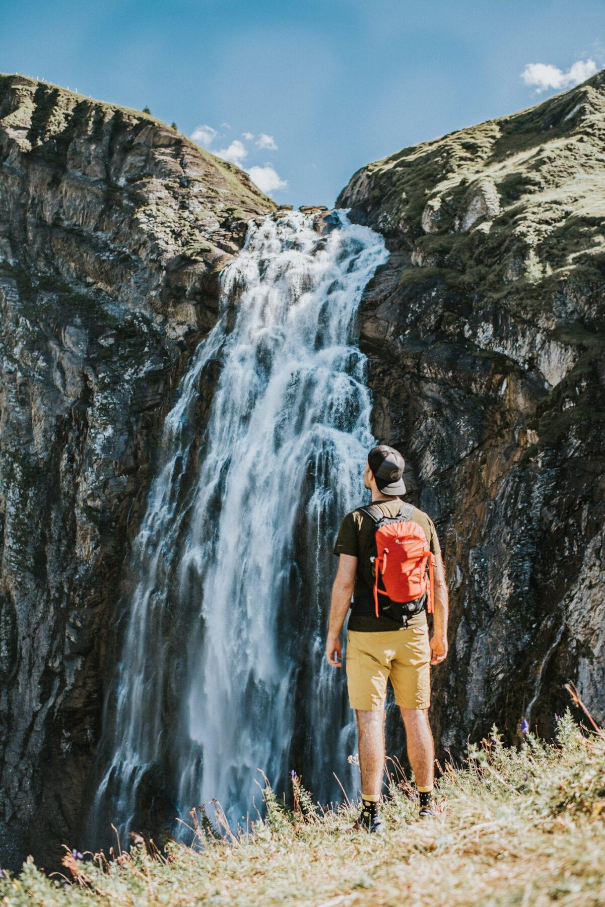Engstligen waterval Zwitserland Adelboden Kaz