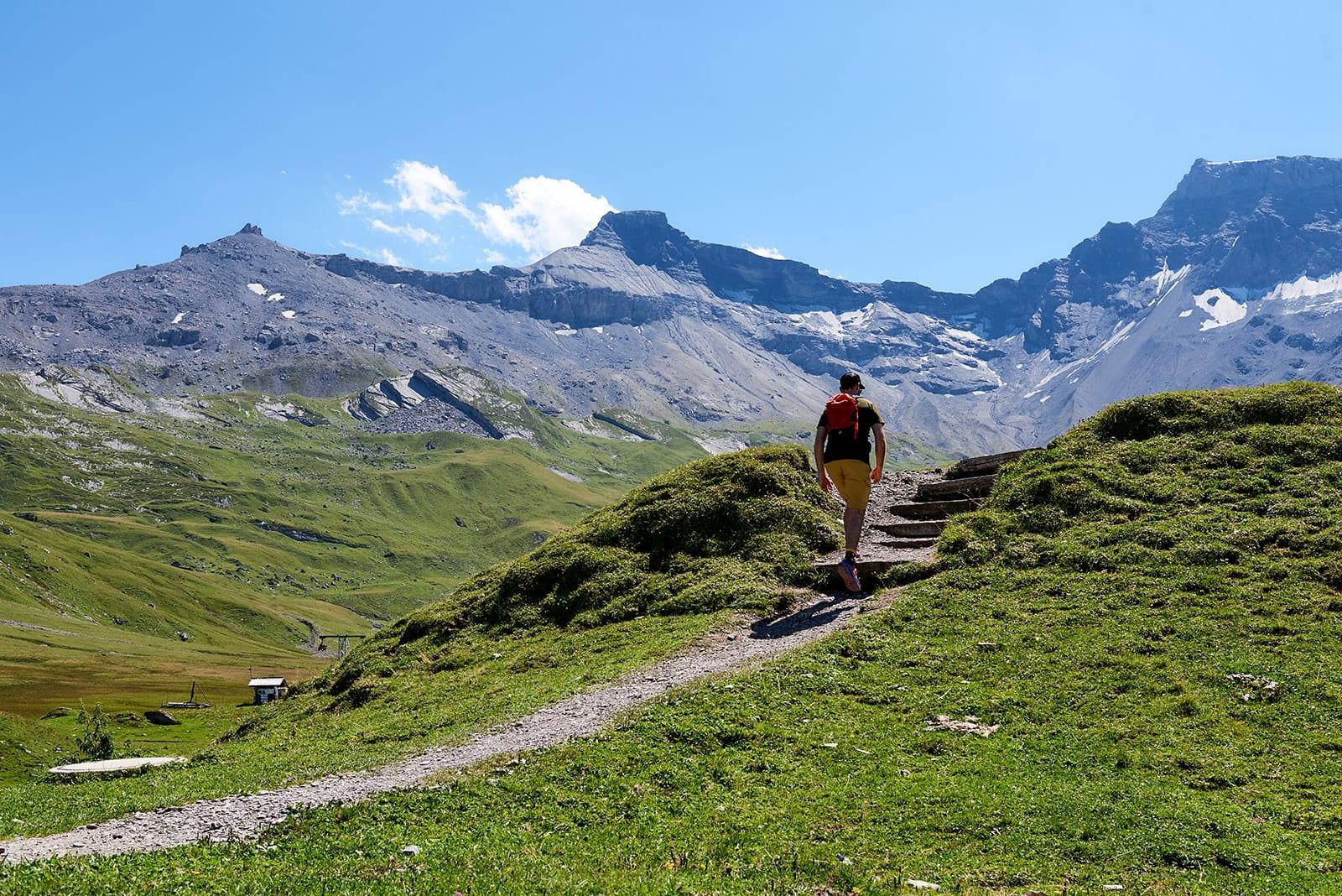 Duurzaam reizen Zwitserland wandelen