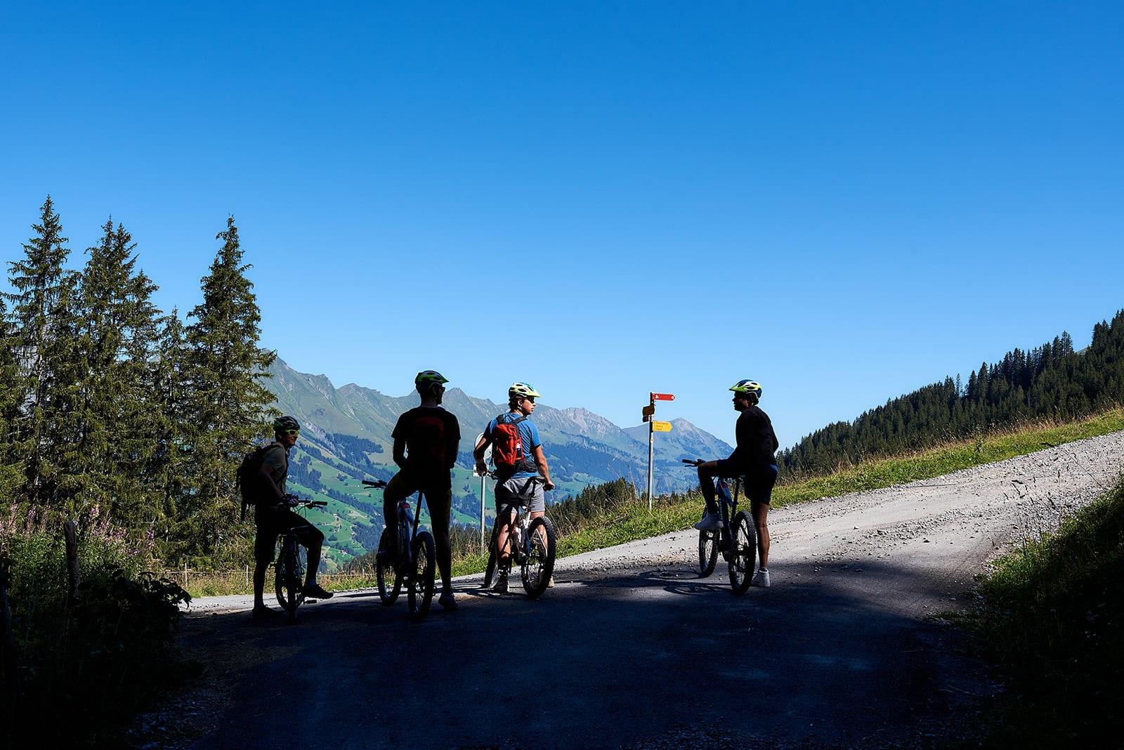 Duurzaam reizen mountainbike