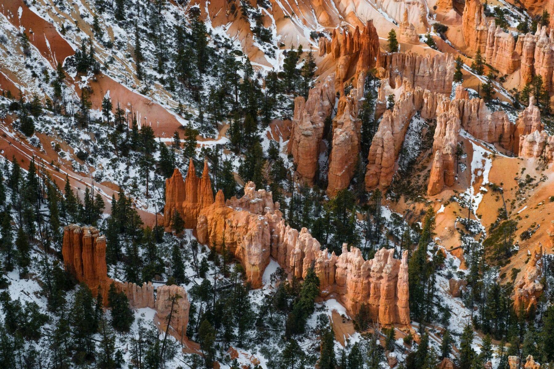 Nationale parken van Amerika Bryce Canyon
