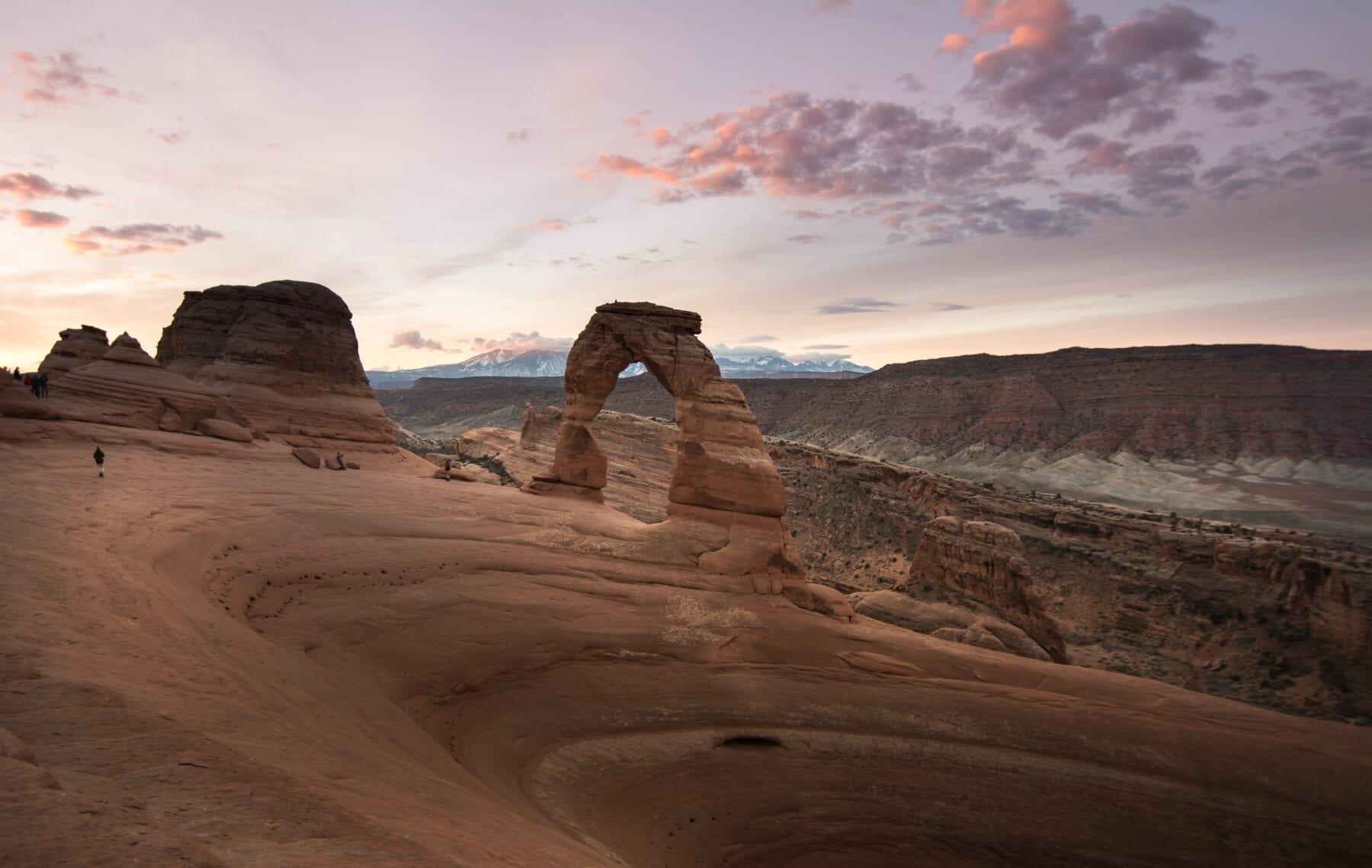 Nationale parken van Amerika Arches