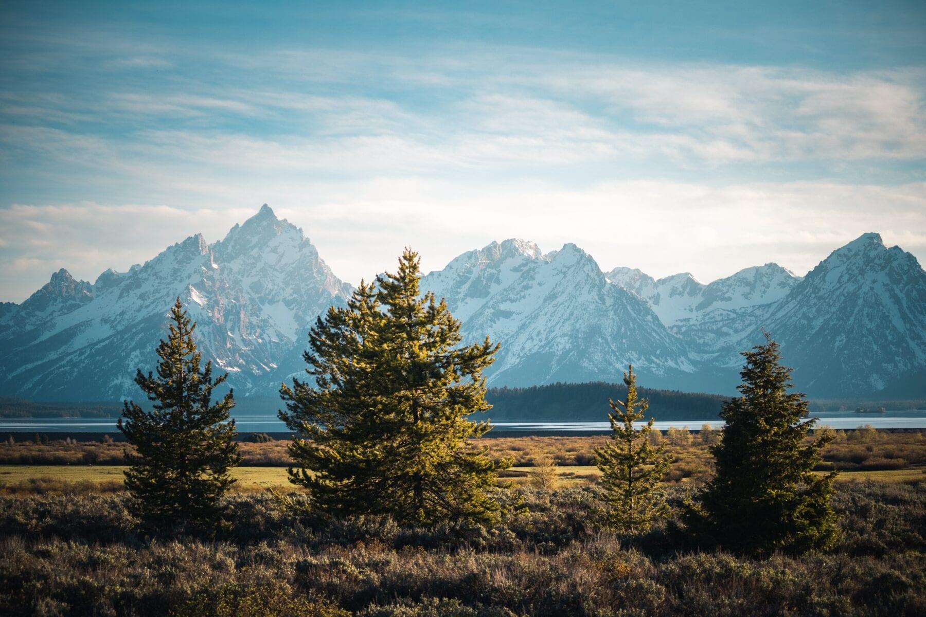 Nationale parken van Amerika Grand Teton